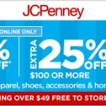 JCPenney Cyber Monday Sale 2013