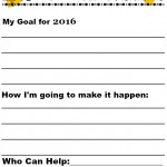 Free Printable for Kids 2015 New Years Resolution Ideas