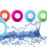 Polaroid Waterproof Bluetooth Shower Speaker with Microphone Only $24.99 Shipped!