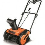 Worx Electric Snow Thrower Only $129.99!