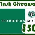 Flash Giveaway Today: Win $50 Starbucks eGift Card