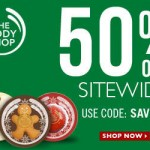 The Body Shop Sale 50% Off Sitewide