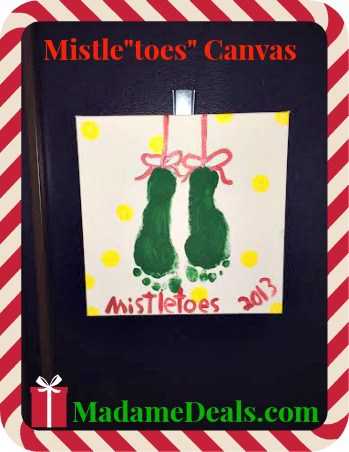 MistleToes canvas