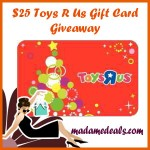 Win $25 Toys R Us Gift Card Giveaway