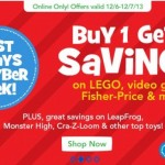 Buy 1 Get 1 Savings at Toys R Us
