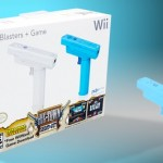 Nintendo Wii Blaster 2-Pack with Big Town Shoot Out Game Only $5.99!