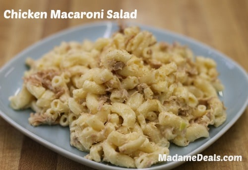 Chicken Macaroni Salad Recipe 1