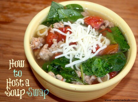 host a soup swap