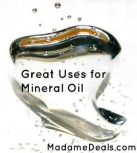 mineral oil uses