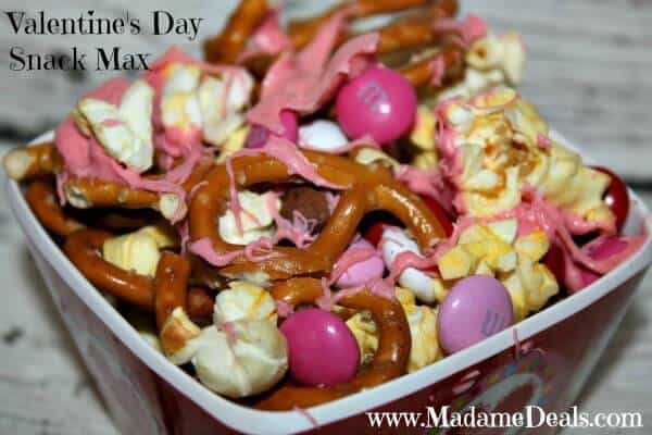 Valentines Day Snack Mix