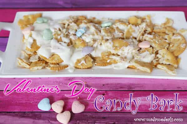 Valentine Recipes for Kids Parties Fun: Nut Free Candy Bark