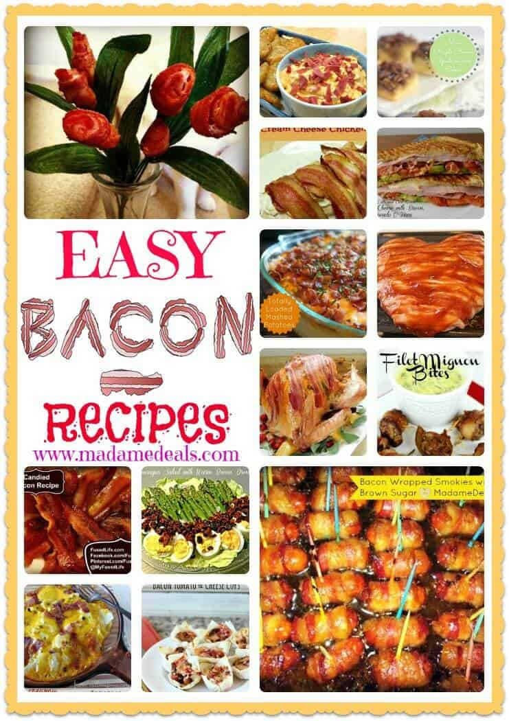 easy bacon recipes