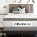 Sealy Posturepedic Gel Series Plush Euro Pillowtop Mattress Sets