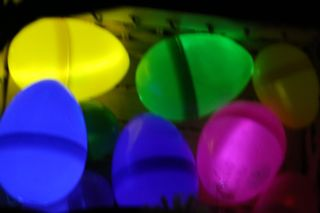 glowing eggs