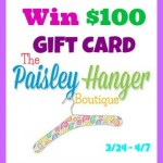 The Paisley Hanger Boutique $100 Gift Card Giveaway
