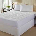 Luxury Quilted Top Memory Foam Mattress Pad With Skirt