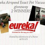Eureka AirSpeed EXACT Pet Bagless Upright Vacuum Giveaway