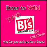 BJs Wholesale Club Gift Cards Giveaway