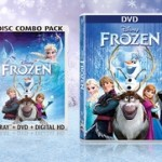 Disney's Frozen on DVD or Blu-ray