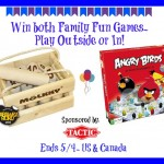 Tactic Games Angry Birds Kimble and Molkky Giveaway