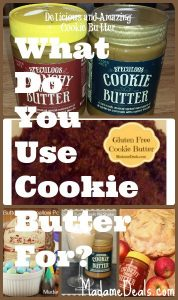 what-do-you-use-cookie-butter-for