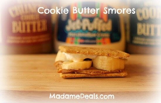 Cookie Butter Smores
