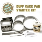Duff Cake Pan Starter Kit 75% Off