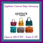 Epiphanie Camera Bags Giveaway