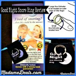 Good Night Anti-Snore Ring- Blogger tested, Husband approved!