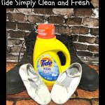 Knock out Odor with Tide Simply Clean & Fresh!