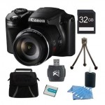 Canon PowerShot SX510 HS 12.1 MP 30x Zoom CMOS Digital Camera Bundles