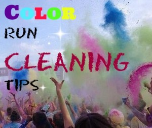 color run cleaning tips