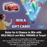 Target Gift Card Contest: Wild Walls and Wall Friends at Target!