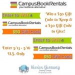 Mission Giveaway Campus Book Rentals Event