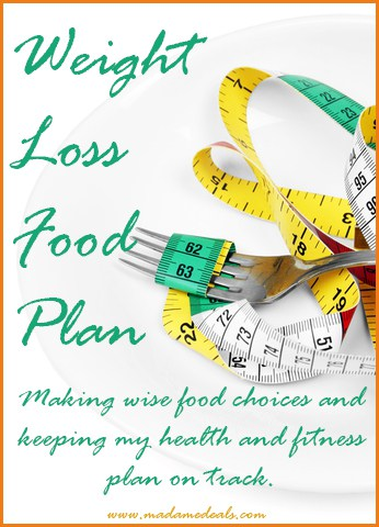 weight loss food plan