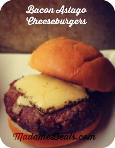 Outdoor Cooking Recipes For Kids : Bacon Cheeseburgers
