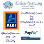 Mission Giveaway ALDI Event