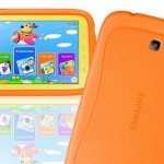 Refurbished Samsung Galaxy Tab 3 7″ Kids' 8GB Android Tablet with Bumper