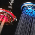 DreamSpa Ultra Luxury 5-Setting LED Showerhead or Hand Shower
