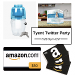 RSVP to the Tyent Twitter Party {$25 Amazon giftcard giveaway!}
