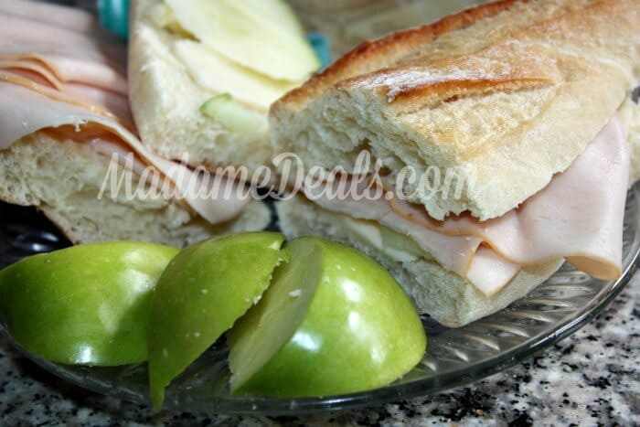 ALDI Meals: Turkey and Havarti Cheese with Apples Sandwich Recipe + $ ...