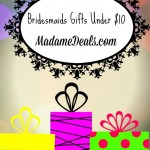 Great Bridesmaids Gifts Under $10