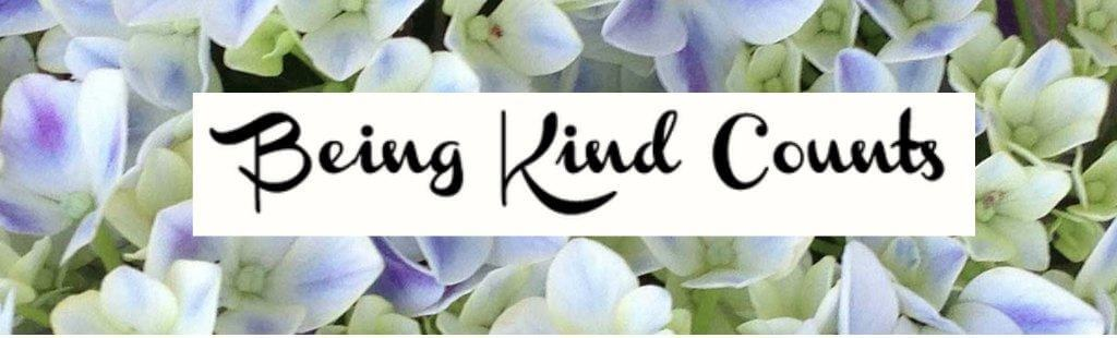 being kind counts