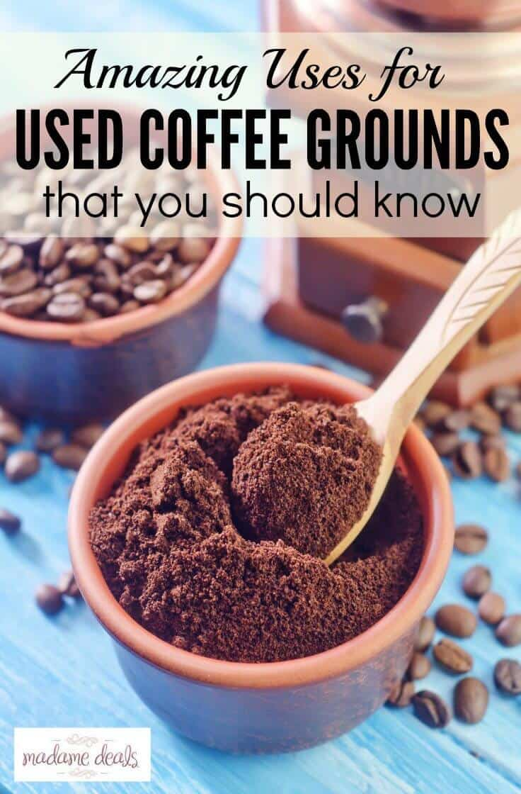 15 uses for coffee grounds real advice gal. Black Bedroom Furniture Sets. Home Design Ideas