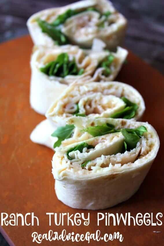 Ranch Turkey Pinwheels Recipe