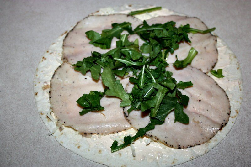 Ranch Turkey Pinwheels
