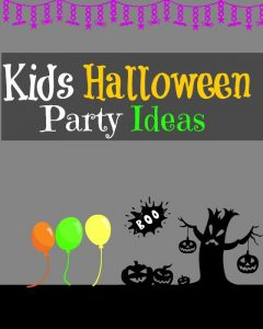 Great Kids Halloween Party Ideas