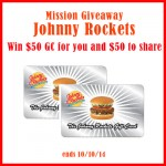 Mission Giveaway Johnny Rockets