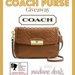 2014 Fall Fashionista Events: Coach Purse Giveaway
