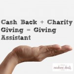 Giving Assistant: Coupons, Cash Back & Charity Giving